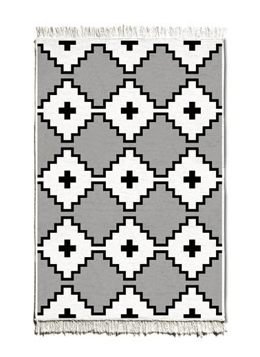 The Mia Kilim 150 x 100 Cm - Çift Taraflı Siyah